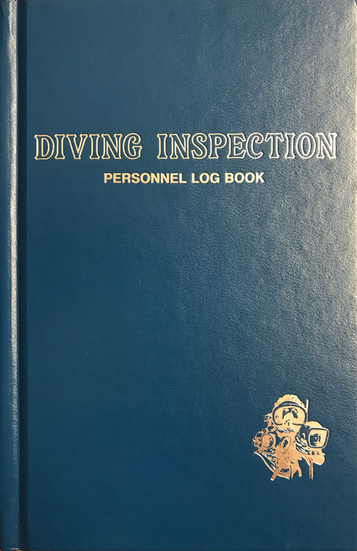 Diving Inspection Log Book